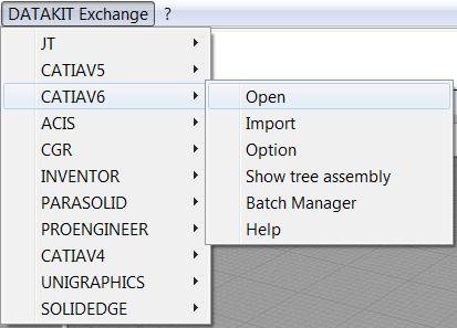 Auswahl der Dateiformate